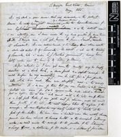 Sent by Alfred Russel Wallace to unknown correspondent on ? May 1855.