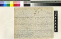 Letter from G. W. Bennett to Sir Joseph Dalton Hooker; from Cape Town, South Africa; 17 Aug 1876; four page letter comprising two images; folio 254