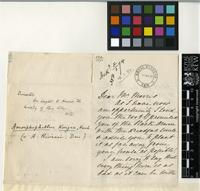 Letter from Helen Smith to Daniel Morris; from Sitio del Pardo, Puerto de Orotava, Tenerife; 18 Nov 1893; three page letter comprising two images; folio 128