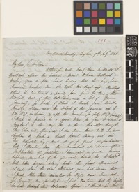 Letter from George Gardner to Sir William Jackson Hooker; from Peradenia, Kandy, Ceylon [Peradeniya, Sri Lanka]; 9 July 1848; four page letter comprising four images; folio 198