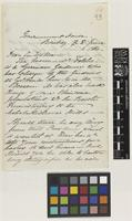 Letter from Lady [Catherine] Frere to Sir William Jackson Hooker; from Government House, Bombay [Mumbai, India]; 8 June 1864; two page letter comprising two images; folio 66