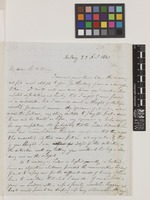 Letter from G.A.[George Arnott] Walker Arnott to Sir William Jackson Hooker; from Arlary, [Kinross, Scotland]; 23 Dec 1841; four page letter comprising four images; folio 20