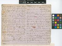 Letter from William Munro to Sir Joseph Dalton Hooker; from Barbados, West Indies; 11 Aug 1870; four page letter comprising two images; folio 89