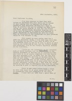 Letter from Sir Arthur William Hill to Harold St John; from the Royal Botanic Gardens, Kew, [England]; 25 Sep 1928; two page letter comprising two images; folio 57