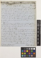 Letter from Elisha Myrick to Sir William Jackson Hooker; from United Society Harvard, South Groton, Massachusetts, [United States of America]; 16 Sep 1853; two page letter comprising two images; folio 282