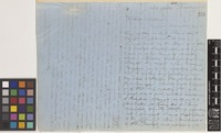 Letter from John Palliser to Sir William Jackson Hooker; from Fort Carlton, Saskatchewan, [Canada]; 8 June 1858; two page letter comprising two images; folio 331