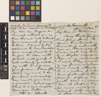 Letter from F.[Francis] Boott to Sir William Jackson Hooker; from 24 Gower Street, [London, England]; 7 Nov 1842; four page letter comprising two images; folio 39