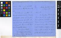 Letter from William Balfour Baikie to the Royal Botanic Gardens, Kew; from Haslar Hospital, Gosport; 2 June 1855; four page letter comprising two images; folio 18