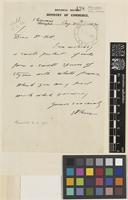 Letter from A.[Arthur Francis George] Kerr to Sir Arthur William Hill; from Botanical Section, ministry of Commerce, Chiang Mai, [Thailand ex-Siam]; 30 Aug 1922; one page letter comprising one image; folio 438