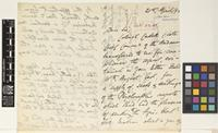 Letter from E.H.[Edward Horace] Man to Sir William Thiselton-Dyer; from Port Blair, Andaman Islands; 21 Apr 1892; three page letter comprising two images; folio 373