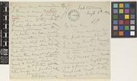 Letter from A.H.[Arthur Hedding] Hildebrand to the Royal Botanic Gardens, Kew; from Fort Stedman, [Shan States, Burma]; 6 Aug 1892; three page letter comprising two images; folio 84 Burma