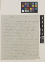 Letter from Thomas Corbett to Sir William Jackson Hooker; from Pencarrow, Bodmin, Cornwall, [England]; 11 Dec 1841; three page letter comprising three images; folio 90
