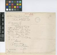Letter from William H. Langton to Daniel Morris; from The Belize Estate & Produce Company Limited, 27 Austin Friars, London; 2 Mar 1889; one page letter comprising one image; folio 61