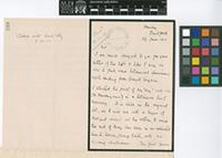 Letter from T.M. Savage English to Sir David Prain; from Hawley, Dartford, Kent [England]; 29 June 1910; two page letter comprising two images; folio 298