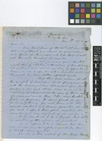 Letter from Alexander G.[George] McCatty to Sir Joseph Dalton Hooker; from Montego Bay, Jamaica; 5 Dec 1872; two page letter comprising two pages; folio 61