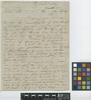 Letter from William Purdie to Sir William Jackson Hooker; from Great Valley, Manchester, [Jamaica]; 19 Nov 1843; four page letter comprising four images; folio 286