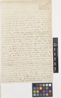 Letter from John Gillies to Sir William Jackson Hooker; from Mendoza, [Argentina]; 12 Sep 1824; four page letter comprising four images; folio 36