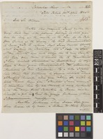 Letter from Archibald McDonald to Sir William Jackson Hooker; from Fort Colvile, Columbia River, [United States of America]; 20 Apr 1844; four page letter comprising four images; folio 315