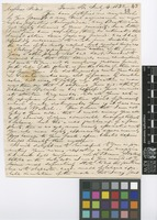 Letter from F.[Francis] Boott to Sir William Jackson Hooker; from Gower Street, [London, England]; 4 July 1832; four page letter comprising four images; folio 43