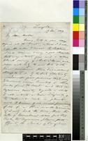 Letter from Sir John Kirk to Sir Joseph Dalton Hooker; from Zanzibar; 13 Nov 1869; eight page letter comprising eight images; folios 278-281