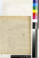 Letter from C. Button to Sir William Thiselton-Dyer; from the Conservator of Crown Lands & Forests at Seychelles, Port Victoria, Seychelles; 16 Jan 1882; two page letter comprising two images; folio 211
