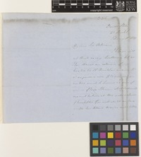 Letter from William Munro to Sir William Jackson Hooker; from Druid Stoke, Bristol, [England]; 18 Feb 1849; three page letter comprising two images; folio 355