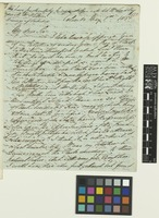 Letter from G.W.[George Warren] Walker to Sir William Jackson Hooker; from Colombo, [Sri Lanka ex-Ceylon]; 1 May 1837; four page letter comprising four images; folio 135