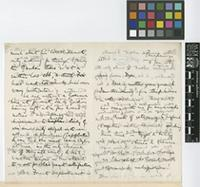 Letter from Henry Trimen to Sir William Thiselton-Dyer; from Peradeniya, [Sri Lanka ex-Ceylon]; 6 Jan 1889; eight page letter comprising four images; folios 429 - 430
