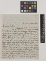 Letter from George Wailes to Sir William Jackson Hooker; from Newcastle, [England]; 10 Mar 1841; four page letter comprising four images; folio 367