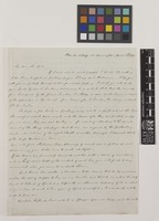 Letter from W.[William] Wilson to Sir William Jackson Hooker; from Bruch Cottage, near Warrington, [Cheshire, England]; 5 Apr 1841; two page letter comprising two images; folio 446