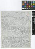Letter from Richard Spruce to Sir William Jackson Hooker; from Para, [Brazil], South America; 13 July 1849; three page letter comprising three images; folio 329