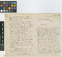 Letter from A. [Adolf] Ernst to Sir Joseph Dalton Hooker; from Caracas, [Venezuela]; 21 Jan 1868; four page letter comprising two images; folio 475