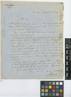 Letter from A. [Adolf] Ernst to Sir Joseph Dalton Hooker; from Caracas, [Venezuela]; 8 Aug 1872; one page letter comprising one image; folio 512