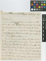 Letter from W. Turner to Sir William Jackson Hooker; from Bogota; 25 May 1837; four page letter comprising four images; folio 187