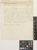Letter from Thomas G.[Gibson] Lea to Sir William Jackson Hooker; from Cincinnati, Ohio, [United States of America]; 13 Apr 1842; one page letter comprising one image; folio 307a