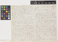 Letter from G.[George] Engelmann to Sir Joseph Dalton Hooker; from St Louis, [Missouri, United States of America]; 14 Feb 1873; six page letter comprising four images; folios 135 - 136
