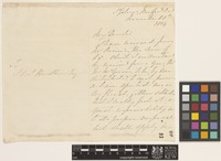 Letter from Miss Mary E. Brenton to Sir William Jackson Hooker; from St Johns, Newfoundland, [Canada]; 18 Nov 1834; four page letter comprising two images; folio 48