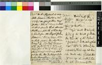 Letter from Peter Cormack Sutherland to Sir Joseph Hooker; from Natal, South Africa; 17 May 1872; four page letter comprising two images; folio 1505