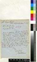 Letter from John Wilson to Sir Joseph Dalton Hooker; from St Georges Park, Port Elizabeth, South Africa; 27 Feb 1879; one page letter comprising one image; folio 1640