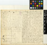Letter from Gustav Mann to the Royal Botanic Gardens, Kew; from Clarence, Fernando Po; 28 June 1860; three page letter comprising two images; folio 204