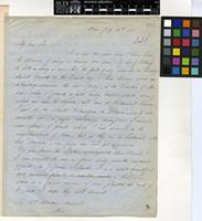 Letter from Giles Munby to Sir William Jackson Hooker; from Oran; 28 July 1855; two page letter comprising two images; folio 226
