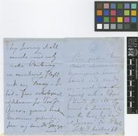 Letter from N.[Nathaniel] Wallich to Sir William Jackson Hooker; from The Athenaeum, [London]; c.June 1853; six page letter comprising four images; folio 444
