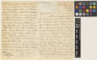 Letter from Frederic Henderson to [Sir Joseph Dalton Hooker]; from Kilpark, Madras [Chennai, India]; 18 June 1871; four page letter comprising two images; folio 437