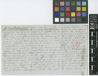 Letter from H.R. Wullschlaegel to [Sir William Jackson Hooker]; from Fairfield, Mandeville P.O. [Jamaica]; 16 July 1847; two page letter comprising two images; folio 407