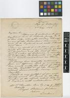 Letter from Robert B. White to Sir William Thiselton-Dyer; from Popayan, Colombia; 3 Feb 1893; two page letter comprising two images; folios 432 - 433