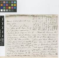 Letter from H.[Henry] Prestoe to Sir William Thiselton-Dyer; from Trinidad; 8 Oct 1881; four page letter comprising two images; folio 549