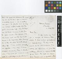 Letter from G.W.[George Whitfield] Smith to Daniel Morris; from Botanic Gardens, Grenada; 4 Aug 1893; four page letter comprising two images; folios 347 - 348