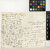 Letter from William Spence to Sir William Jackson Hooker; from 18 Lower Seymour Street; 19 Feb 1858; four page letter comprising two images; folio 542