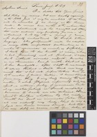 Letter from Francis Boott to Sir William Jackson Hooker; from Paris, [France]; 8 Jan 1819; four page letter comprising four images; folio 32
