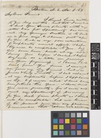 Letter from F.[Francis] Boott to Sir William Jackson Hooker; from Boston, 'N.A.' [North America, United States of America]; 8 Nov 1819; four page letter comprising four images; folio 42